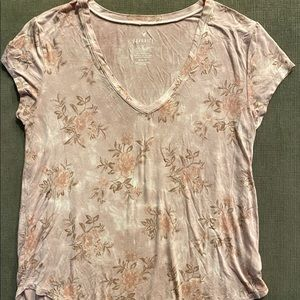 Pink American Eagle Shirt
